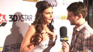 PornhubTV Phoenix Marie PT2 Interview at 2012 AVN Awards