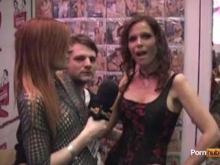 PornhubTV Syren De Mer Interview at 2012 AVNs
