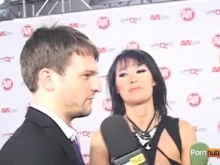 PornhubTV Tanya Tate Eva Karera Interview at 2012 AVNs