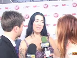 PornhubTV Chyna Interview at 2012 AVN Awards