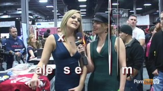PornhubTV Alexis Texas Interview at eXXXotica 2012 Cock docking