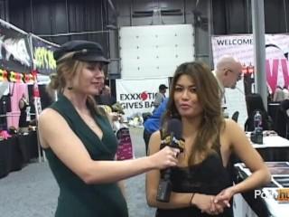 PornhubTV Charmaine Star Interview at eXXXotica 2012