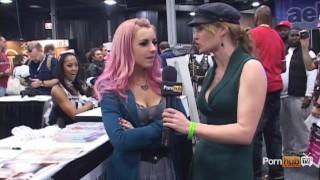 PornhubTV Lexi Belle Interview at eXXXotica 2012