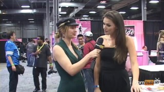 PornhubTV Tori Black Interview at eXXXotica 2012 porno
