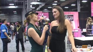 PornhubTV Tori Black Interview at eXXXotica 2012