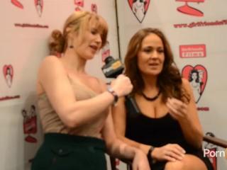 PornhubTV Elexis Monroe Interview at 2013 AVN Awards