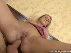 That girl young, pretty and ready for anal sex.