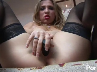 Dicks cocks penis compare size sexy blonde in nylons pleasures her pussy, pornhub.com blonde butt booty shaved close up