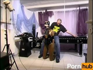 Big asshole pictures and videos metzen am pranger scene 3, pornhub.com kink bondage latex ball gag