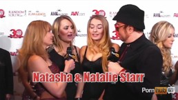 PornhubTV Christie Stevens Natalia Star 2013 AVN Awards