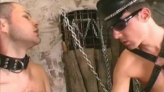 In leather with passion Scene 1
