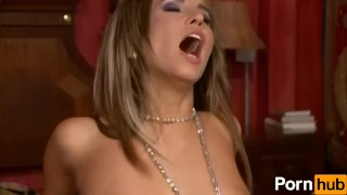 Aleska Diamond Gives A Foot-Job