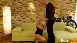 Gorgeous Blonde Slut Banged Hard