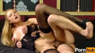 Slut In Lingerie Does Anal  ass fuck nylon blowjob hungarian cumshot fetish big dick hardcore brunette ass to mouth heels stockings corset facial pornhub.com pussy licking bald pussy