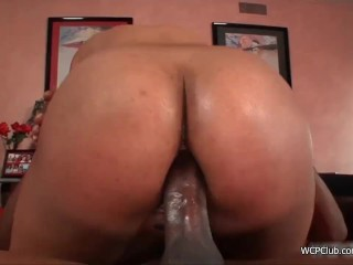 Phat black juicy booty anal fucked