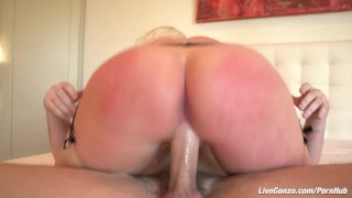 LiveGonzo Angel Vain Gets her Ass Fucked  tits boobs bbw sucking blonde mom fucking tattoo chubby big dick milf curvy sex porn anal hard livegonzo huge dick