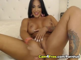 I wanna fuck my aunt busty lady two dildo penetration hd, double dildo penetration busty big tits latino