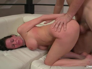 LiveGonzo Veronica Avluv Horny Mature Loves Dick
