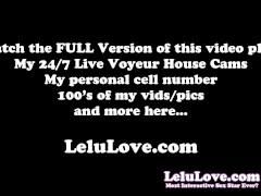 Lelu Love-Jerkoff Cum Eating Encouragement