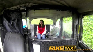 FakeTaxi Stunning thief pays the price Lipstick red