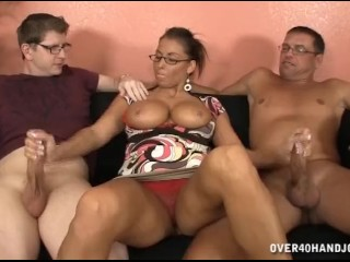 Cum Recipes For Ejaculating Dildos Busty Milf Double Handjob