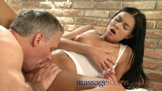 Encounter wet massage sensual in rooms pussy spreads tanned beauty czech tits