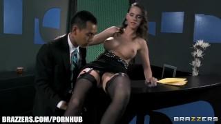 Big dark cock hunger jennifer feeds slutty sextoy her hard for gape cum