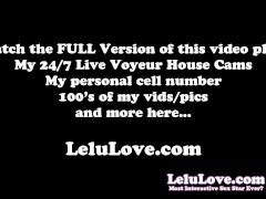 Lelu Love-Masturbation Instruction Handjob Demo
