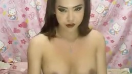 Busty Ladyboy in Tits and Cock Massage