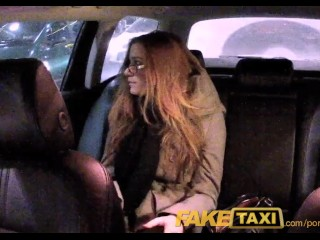 Sexy Moms Incest Porn FakeTaxi Cutie with glasses fucks for rent money