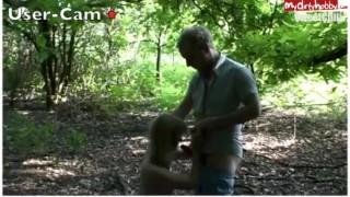 Blondine beim Usertreff gefickt! Outside cock