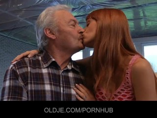 Wife First Time With Bbc Fucking, Young Erica fucks the Old grandpa