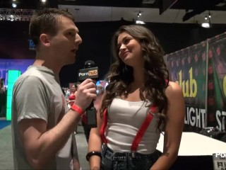 PornhubTV with Allie Haze at eXXXotica 2013