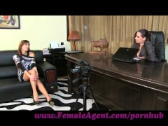 FemaleAgent. Gorgeous and game for anything