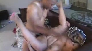 Ebony Plumper Cock Sucks And Gets Fucked
