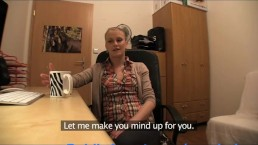 PublicAgent Blonde in glasses gets fucked on my office desk