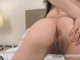 Sexy hairy girl Kaiah from UK shows you her goodies