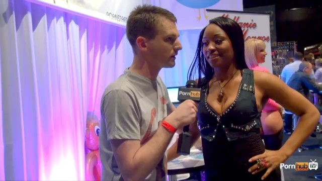 PornhubTV with Imani Rose at eXXXotica 2013