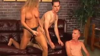 Bi Bi American Pie 6 - Scene 3  guy on guy pegging trimmed blowjob blonde ass-fucked bi cumshots fmm heels threesome anal pornhub.com
