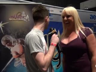 PornhubTV with Alexis Golden at eXXXotica 2013