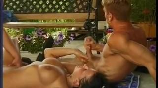 Bi Bi Stu - Scene 1  guy on guy big tits ass fucking blowjob cumshot skinny bi brunette heels shaved anal facial pornhub.com pussy licking euro