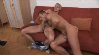 Bi Now Gay Later 2 - Scene 3  euro blonde cumshot fetish stocking milf bi kinky rimming heels anal corset facial pornhub.com big dicks