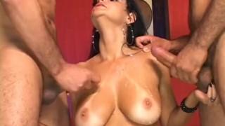 Bi Tastic - Scene 2  milf brunette bi cumshots 3some anal fmm pornhub.com raven tan-lines trimmed blowjob