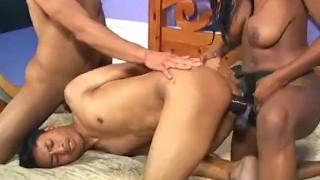 Bi Tastic - Scene 9  vibrator bi cumshots ass-fucking anal pornhub.com booty butt raven ebony dildo blowjob skinny