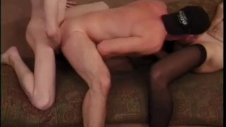 To Bi Or Not To Bi - Scene 1  milf stocking bi cumshots ass-fucking anal heels pornhub.com daisy chain big-tits pussy-licking blowjob