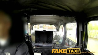 FakeTaxi Sex starved career woman in lunch break sex tape  close up big tits homemade taxi british amateur blowjob cumshot pov hardcore camcorder reality oral sex fake tits