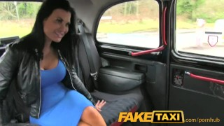 FakeTaxi Sex starved career woman in lunch break sex tape porno