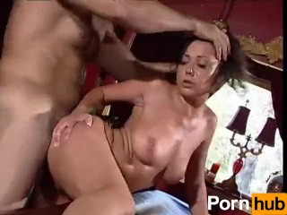 Facial expressions of forced anal