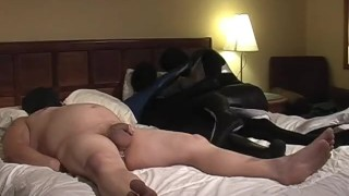 Spandex Spanking And Sucking - Scene 2 Tease dildo
