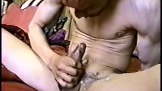 The scene tapes  lost stroking cock